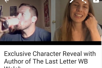 The Last Letter Character Reveal – Interview with Matt Whiteside